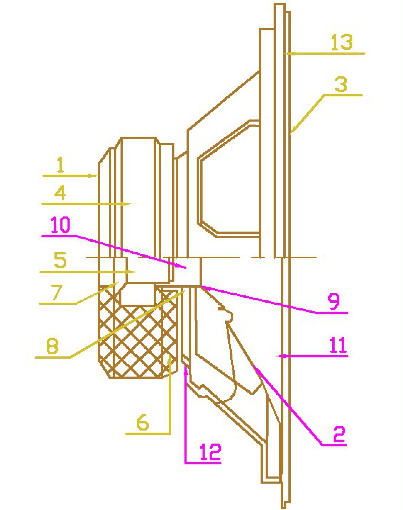 スピーカー構造図